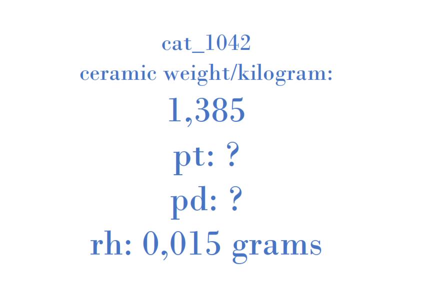 Precious Metal - KAT000 113419836000 V RG 1464 002 Made in RSA