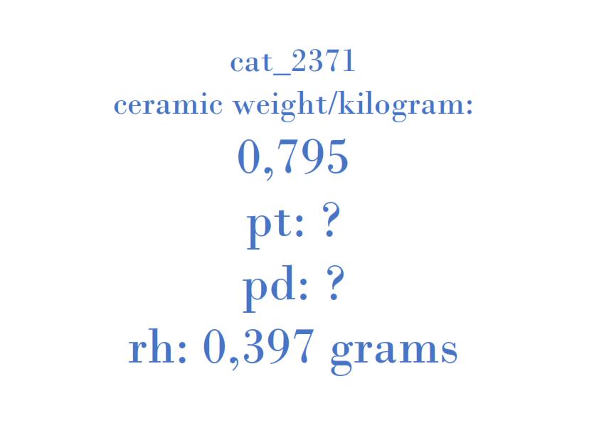 Precious Metal - 96484268 CRO D7CO1 1017A