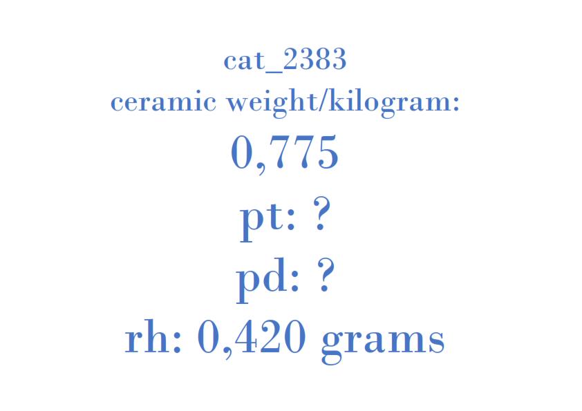Precious Metal - 96344446 MT0 D1F01 20011A