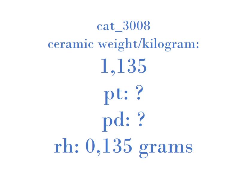 Precious Metal - 2C11-5E211-AB 20B04BA T2A1A 001 C038