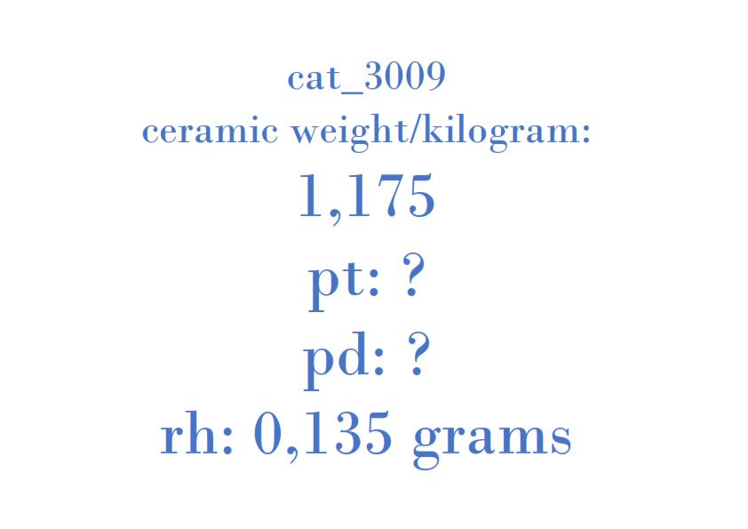 Precious Metal - 1C15-5E211-GC 08J00BA T2A1A 001 9907