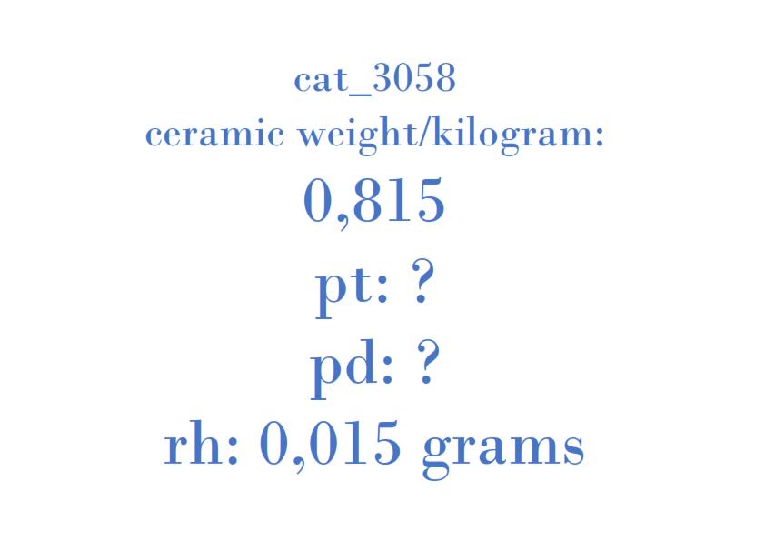 Precious Metal - 001B669 08E020A D1STAGE3 T2A1A