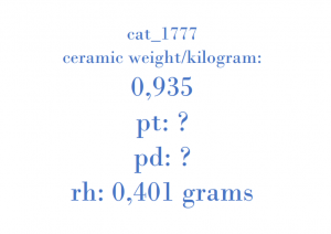 Precious Metal - K053 218860380 A7670224400