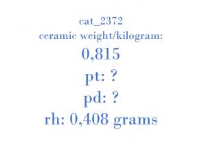 Precious Metal - 96484267 CTO D8C04 1158 A