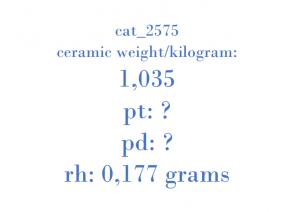 Precious Metal - 9X23-5E212-BC 647081 C9R5A