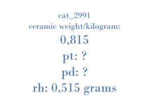 Precious Metal - YS61-5G232-CA 1224419 A T2A1A